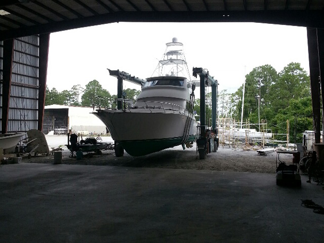 74' Viking Repair